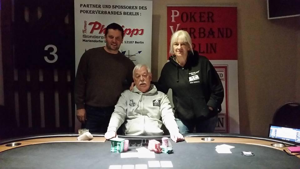 OMAHA-Pokermeisterschaft 2016 des PVB : Die Gewinner