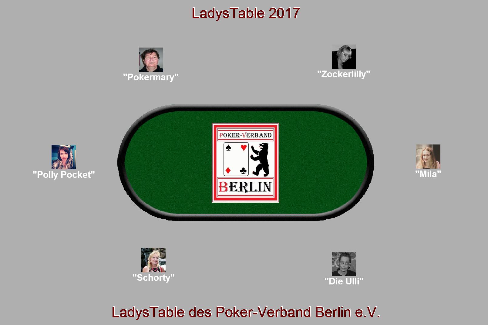 LadysTable 2017 des PVB / Teilnehmer