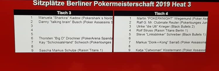 Ende PVB-THNL-Pokereinzelmeisterschaft 2019 Heat 3